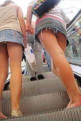 Faustino recommend best of thong mall upskirt
