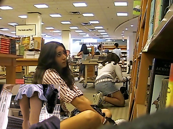 College library upskirt videos