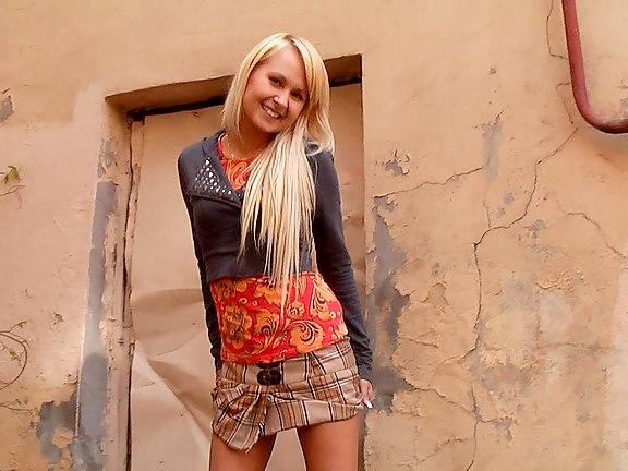 blonde-teen-bent-over-up-skirt