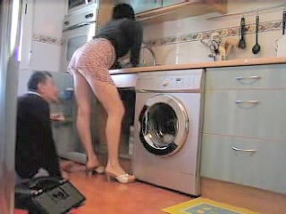 porn Upskirt plumber