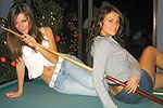 Billiard jeans girl