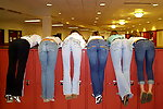 6 girls in jeans