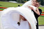 Wedding upskirt here