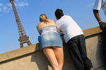 Paris Upskirt