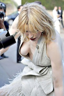 Enjoy Courtney Love down the blouse