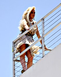 Lindsey Lohan weather upskirts