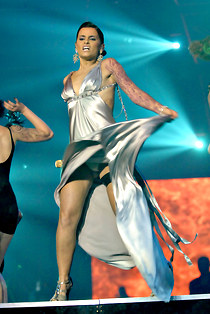 Nelly Furtado hot dancing upskirt