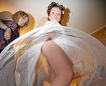 Bridal fishnets