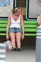 upskirt collection - upskirt photo gallery - voyeur blonde milf