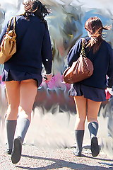 Candid upskirt schoolgirl Upskirting: Teacher