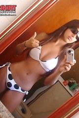 Nude tit girls bikini voyeur scenes