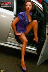 0694 naughty maid lingerie upskirt