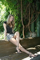 Alisa jeans skirt
