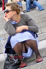 No panties upskirt accidental